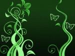 borboletas.desenho.verde