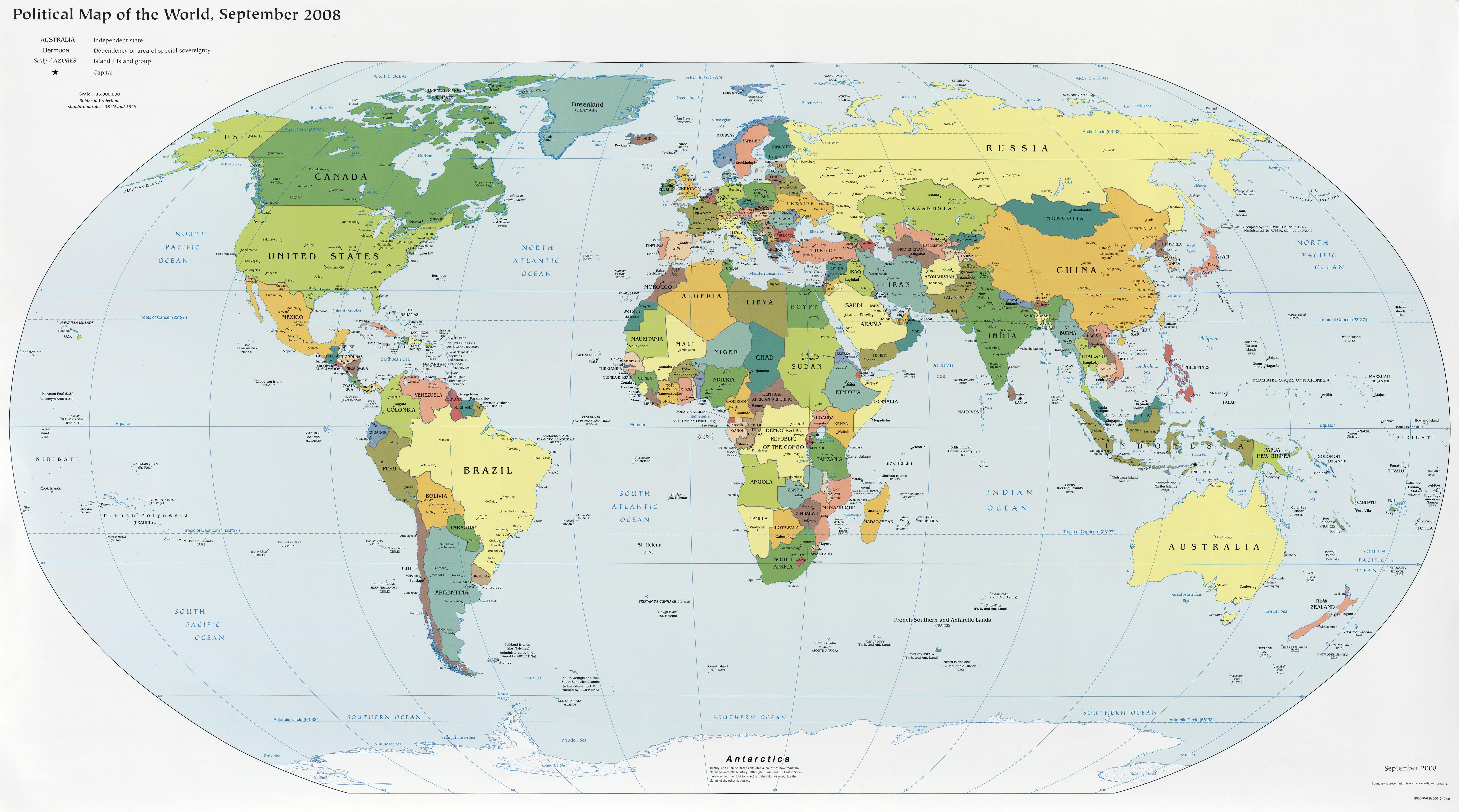 mapa mundi  Janus Aureus